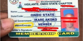 Armed Miyetti Allah Members Set Up Vigilante Group and Checkpoint in Ondo