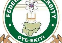 FUOYE Resumption Date for 2nd Semester 2018/2019 Academic Session