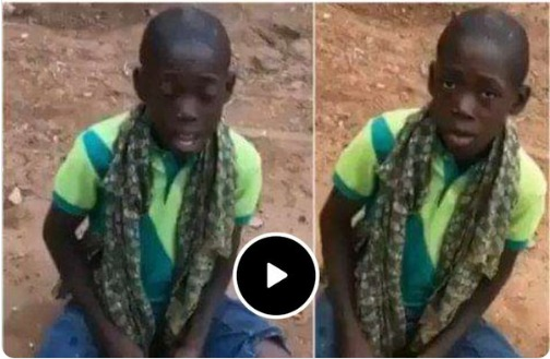 Teenager Hawking Orange will Amaze you with a Golden Voice of Tope Alabi's Song