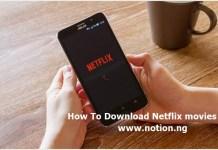 Download Netflix movies