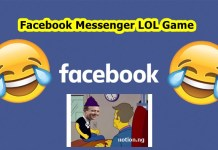 Facebook Messenger LOL Game