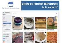 Selling Via Facebook Marketplace