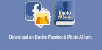 How to Download an Entire Facebook Photo Album