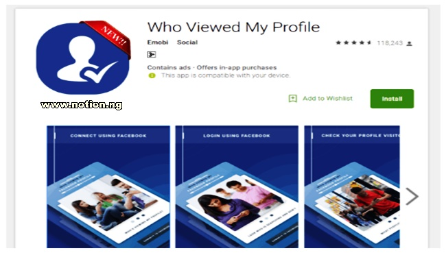 Viewed app who my profile Facebook Finally