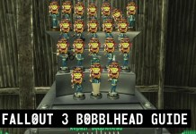 Fallout 3 bobblehead Locations