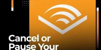 pause audible membership