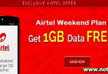 Airtel Weekend Plan