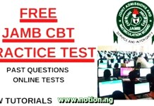JAMB CBT Practice App for PC