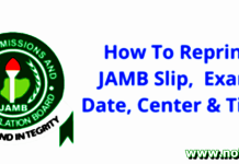 Jamb 2021 Reprint