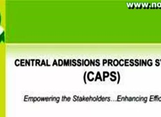 Central Admissions Processing