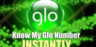 Easyiest Way To Check Glo Number