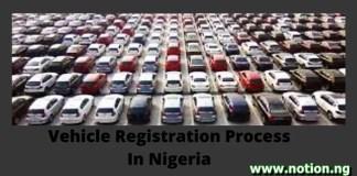 Vehicle Registration in Nigeria