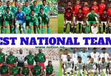 Best Football Teams In Africa