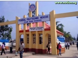 Federal Polytechnic Nekede Evening Programme Admission List