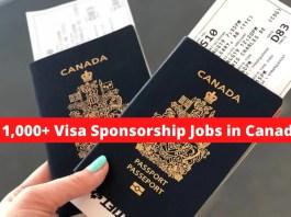 Visa Sponsorship Jobs in Canada