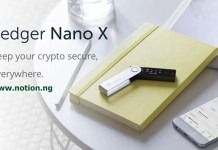 Ledger Nano X cryptocurrency wallet