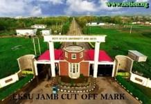Ekiti State University Cut Off Mark