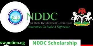 NDDC Scholarship 2021
