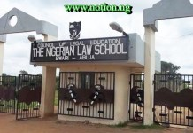 Nigerian Law School Admission 2021