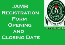 When is Jamb 2021 Registration Starting
