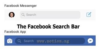 The Facebook Search Bar