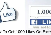 How To Get 1000 Likes On Facebook