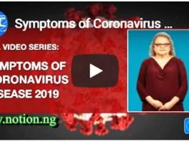 Signs of Coronavirus