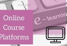 Current Online Course Platforms