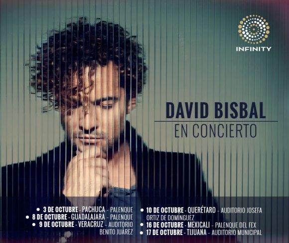 David Bisbal en Concierto por México