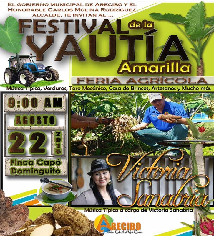 Poster - Arecibo Celebra Primer Festival de la Yautia