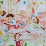 """Viento de Agua presenta """"Sonidos Primarios"""", disco de bomba, plena y música típica para niños y niñas"""