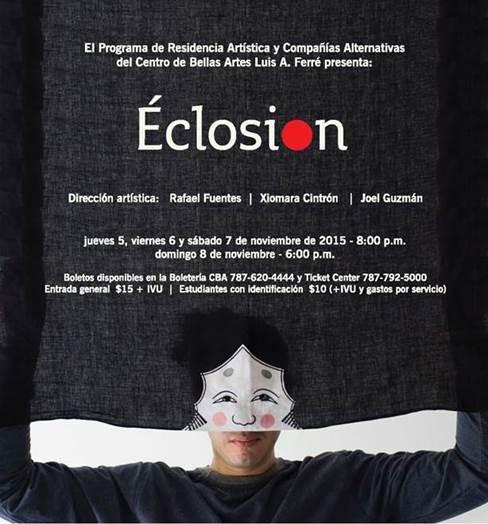 CBA presenta un nuevo grupo de teatro físico en Puerto Rico, Eclosión