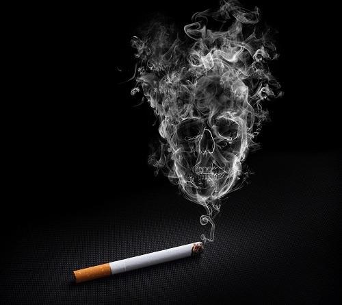 Le fardeau de la cigarette