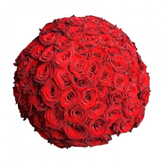 100 Růží Rudá Naomi