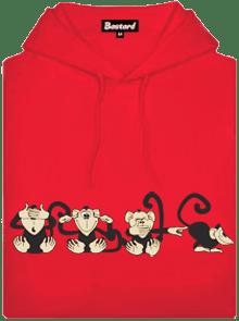 Opice dětská mikina