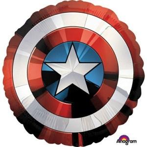 BALÓN fóliový Avengers štít 71x71cm