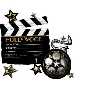 BALÓN fóliový Hollywood supershape
