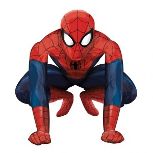 Balón airwalker Spiderman 91x91cm
