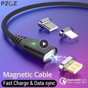Magnetický USB kabel