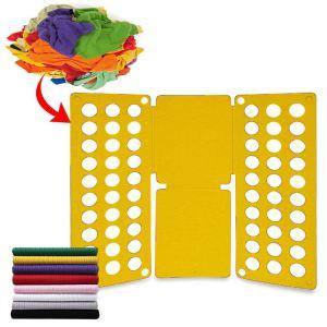 Deska na rychloskládání oblečení Žlutá