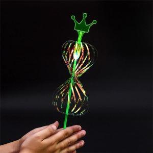 Hůlka - bublinová iluze