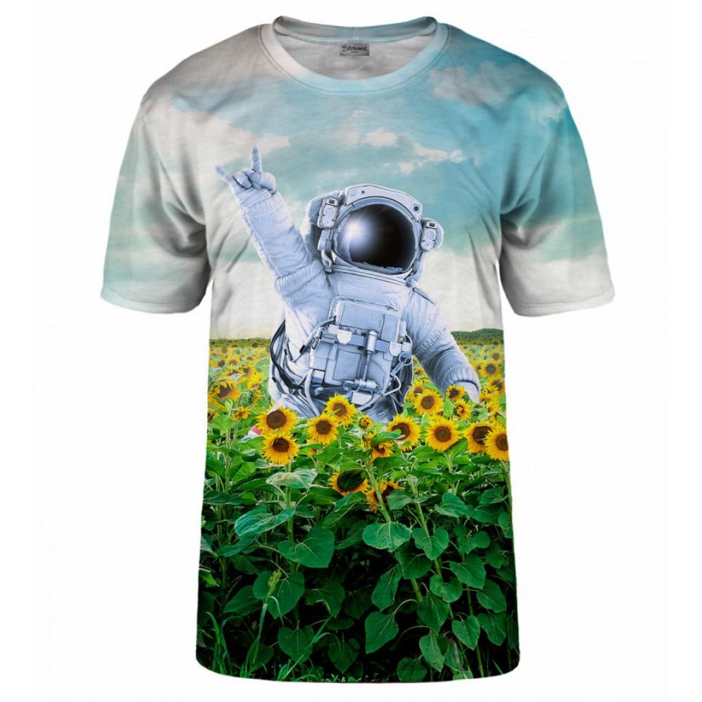 tričko s kosmonautem