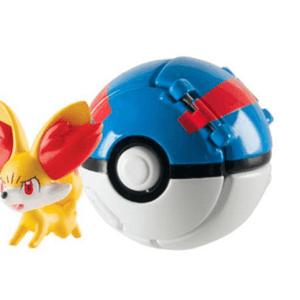 Pokémon Throw 'n' Pop - Fennekin + Great Ball