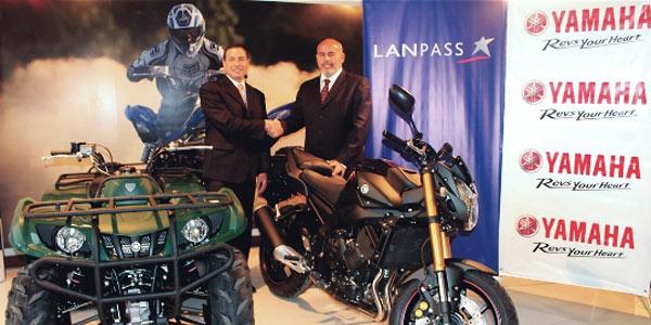 LANPASS y Yamaha Motor del Perú establecen alianza estratégica