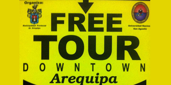 Free Tour Downtown Arequipa