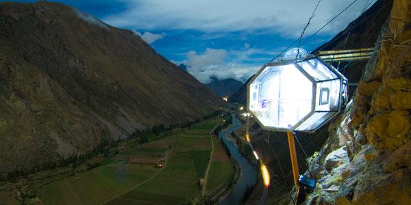Skylodge Adventure Suites en el Valle Sagrado de los Incas