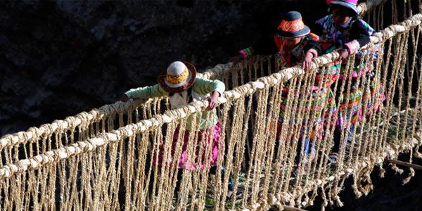 Puente Q´eswachaka declarado patrimonio inmaterial por la UNESCO