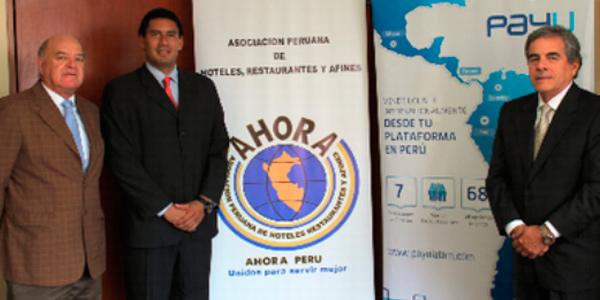 Socios de AHORA PERÚ se beneficiarán con pagos y reservas online de PayU Latam