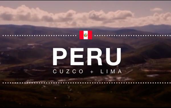 Video: Los mejores lugares de Lima y Cusco en solo 120 segundos