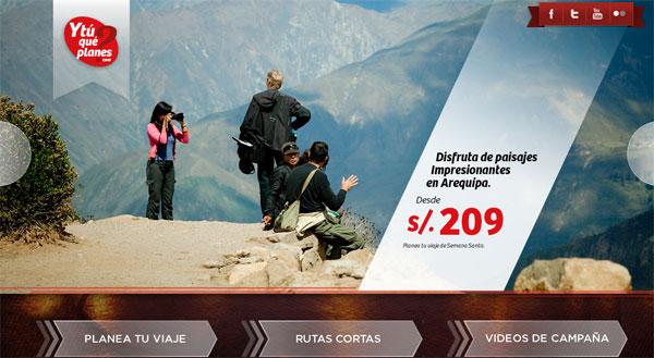 37 millones de viajeros internos en Perú para el 2014